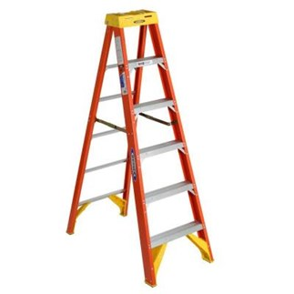 6206 6 ft Type IA Fiberglass Step Ladder