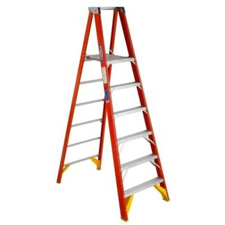 P6206 6 ft Type IA Fiberglass Platform Ladder